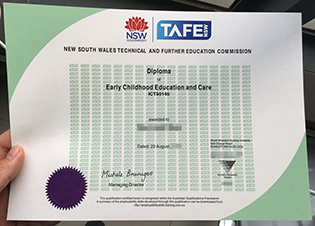 New South Wales TAFE diploma certifi
