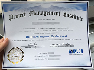 what's the fake PMP certificate supp