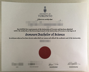 University of Toronto (U of T) degre