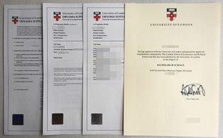 Buy University of London fake degree