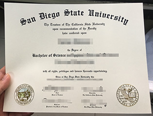 How can I buy fake SDSU diploma cert