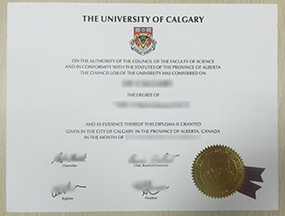 buy University of Calgary fake diplo
