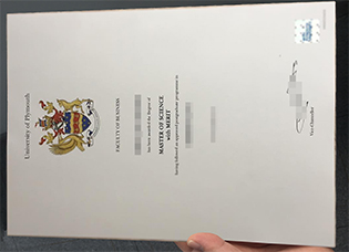 Plymouth University fake degree for