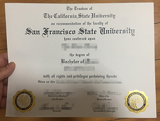 buy SFSU fake diploma, San Francisco