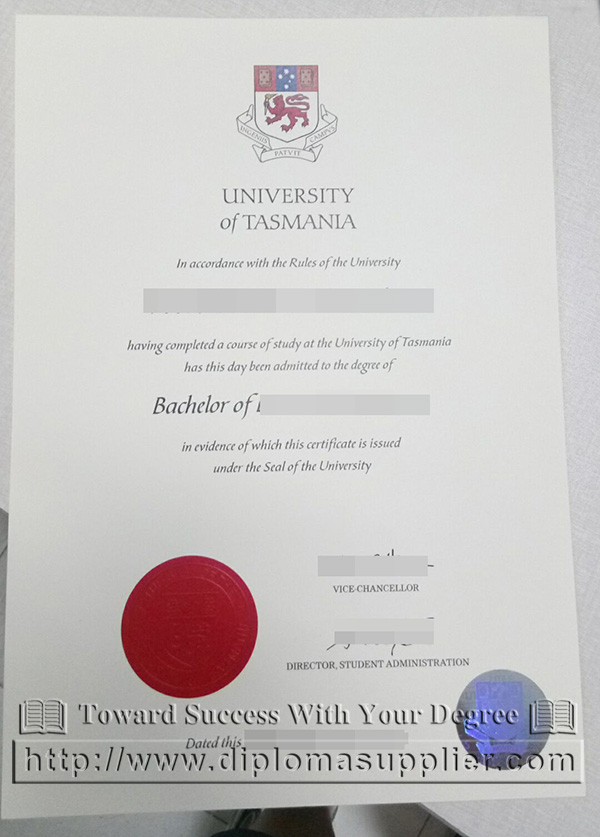 University of Tasmania degree, University of Tasmania diploma