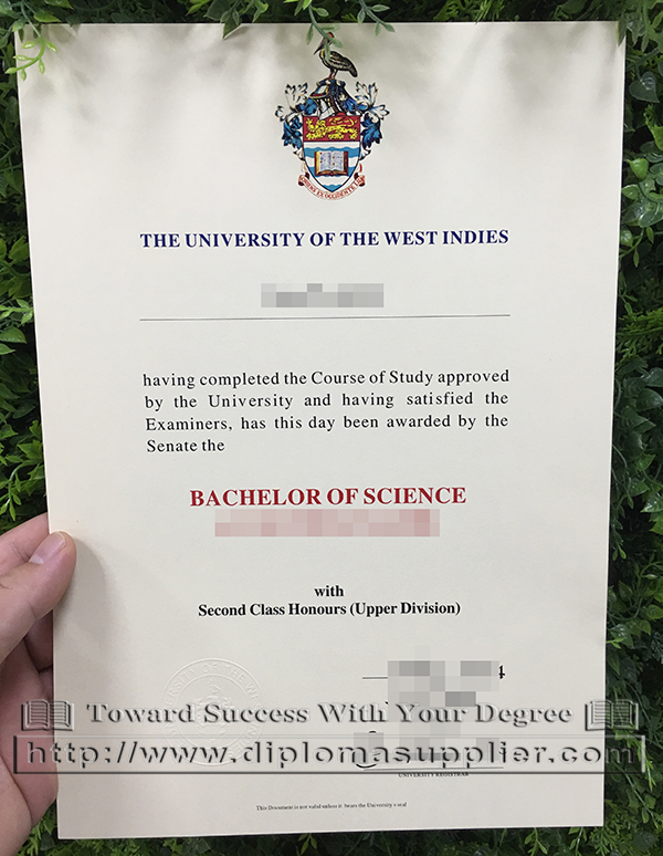 The University of the West Indies degree