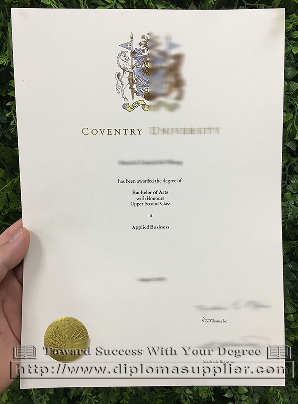 Coventry University degree, Coventry University diploma