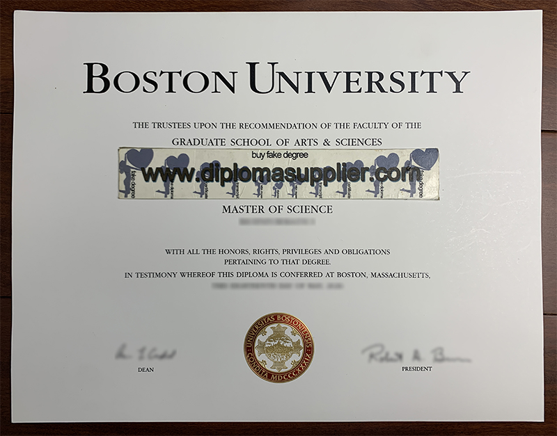 Boston University Degree, Boston University Diploma