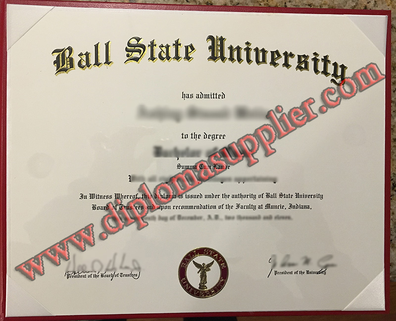 fake Ball State University diploma, Ball State University fake degree, fake Ball State University certificate